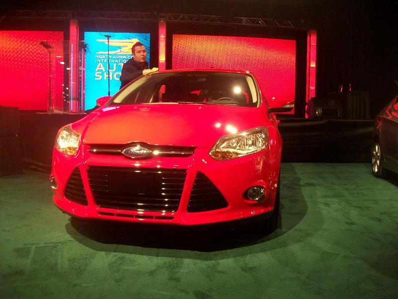 The 2012 Ford Focus was a finalist for the North American Car of the Year Award.