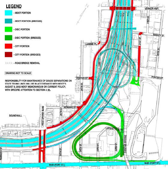 "The ""Gateway Project"" is supposed ease traffic congestion and improve connectivity to area highways. As you can see here, there are several partners involved in completing the project. Judge Edwards says Moroun's company has not done the work properly."
