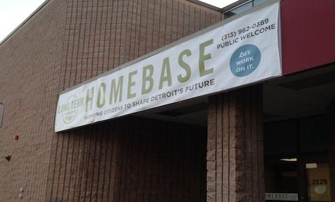 "The Detroit Works Project long-term planning team's ""home base"" is located in Eastern Market."