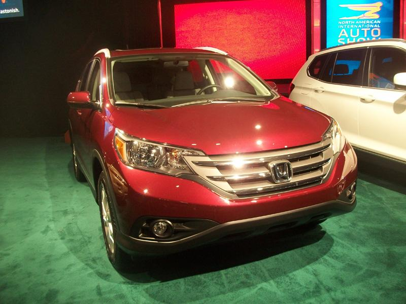 "The 2012 Honda CR-V was a finalist for the ""Truck of the Year"" award."
