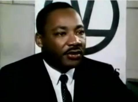 Martin Luther King, Jr. speaking on an NBC program about his opposition to the Vietnam war in 1967.