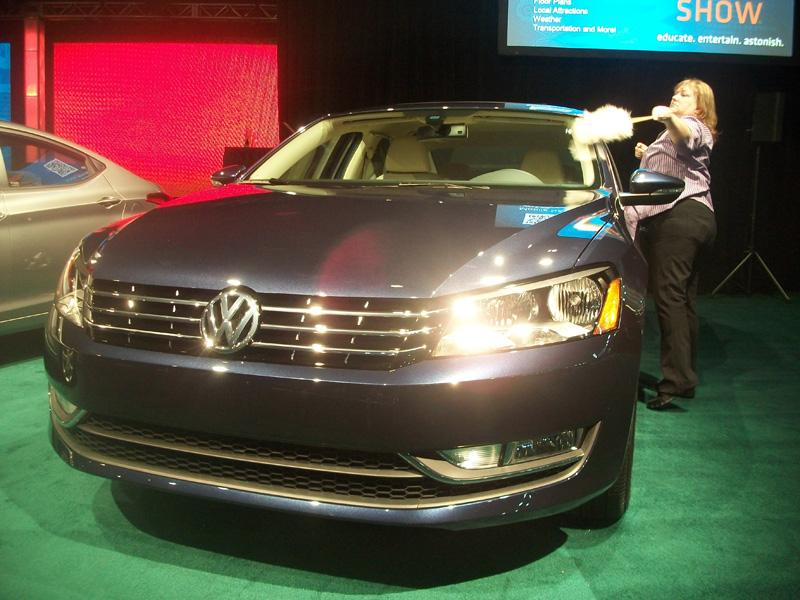 The 2012 Volkswagen Passat was a finalist for the North American Car of the Year Award.