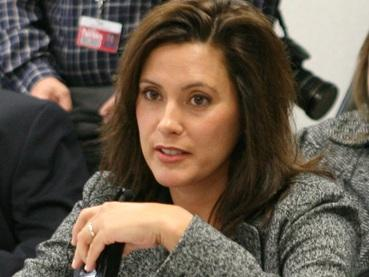 Democratic state Senate Minority Leader Gretchen Whitmer