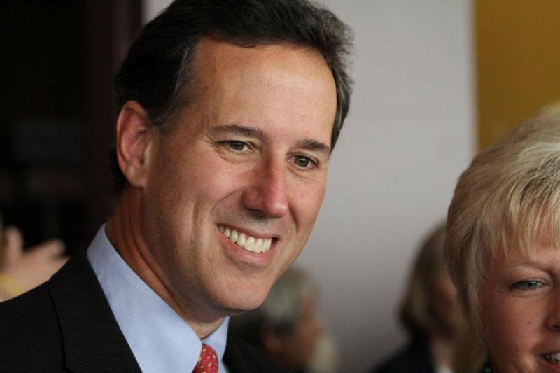 Rick Santorum hopes to upset Mitt Romney in the Michigan presidential primary tomorrow.