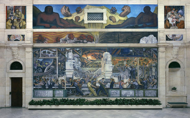 Art in the DIA is the topic of many discussions about Detroit's future.