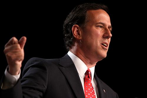 Rick Santorum is one of eleven Republicans that want your vote on Tuesday, the day of Michigan's presidential primary