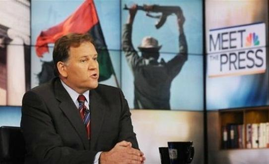 Republican Congressman Mike Rogers on NBC's 'Meet the Press' in 2011. Rogers represents Michigan's 8th District.