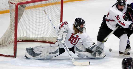 The Hamline University Women's Hockey team. Commentator John U. Bacon writes about his experiences assisting a women's hockey team.