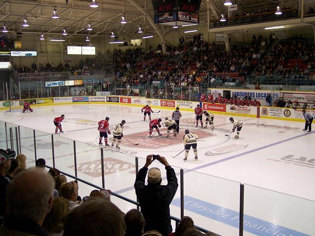 In recent years, Windsor Arena was home ice for the University of Windsor Lancers.