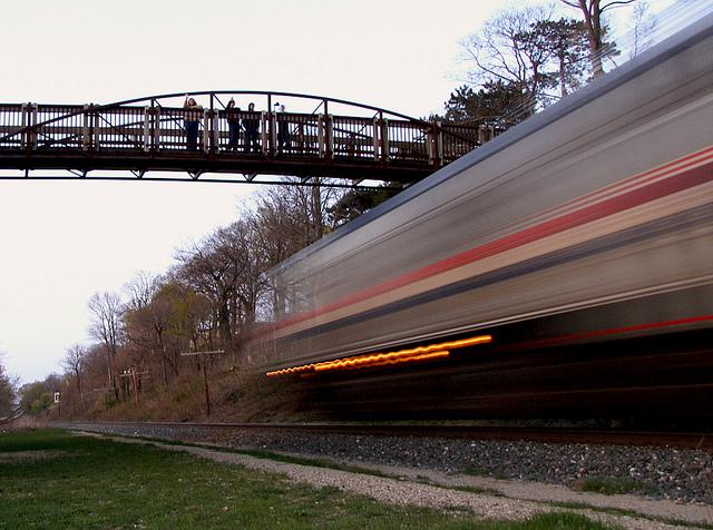 At one point, Amtrak trains were ordered to speeds of 25 m.p.h. on parts of the Wolverine line.