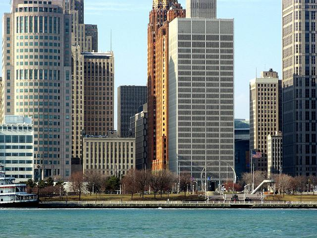The city of Detroit will ask employees to physically pick up their paychecks on Feb. 24th.