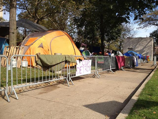 "The ""Occupy"" movement in Detroit. Will the movement sprout again this spring?"