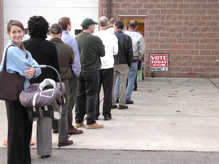Will there be long lines outside of polling places in Michigan on Tuesday?