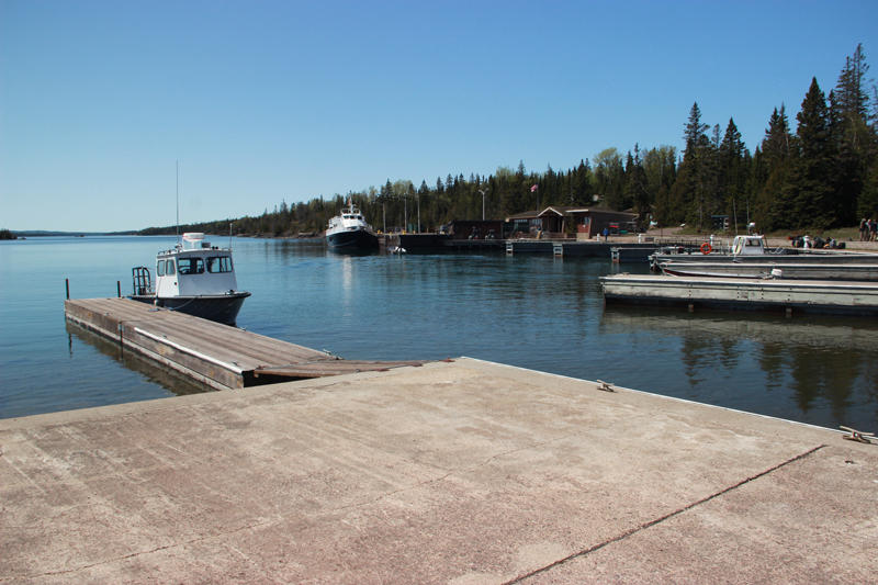 Rock Harbor on Isle Royale