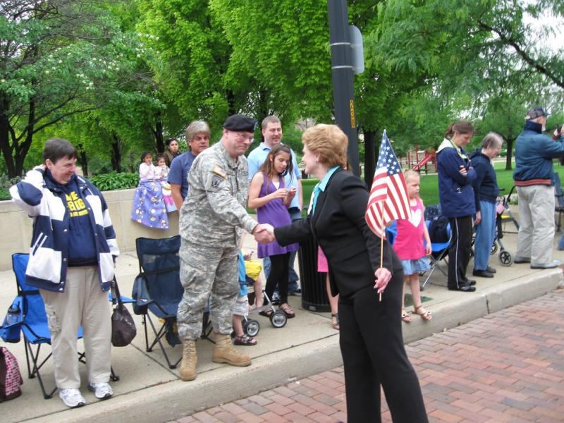 U.S. Senator Debbie Stabenow (D) Michigan plans to take part in two 4th of July parades today