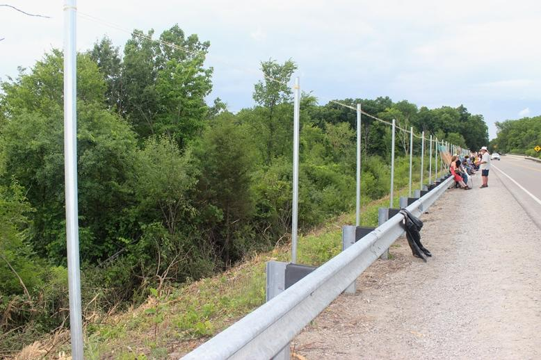 Michigan Department of Transportation plans to build an eight-foot fence around the property.