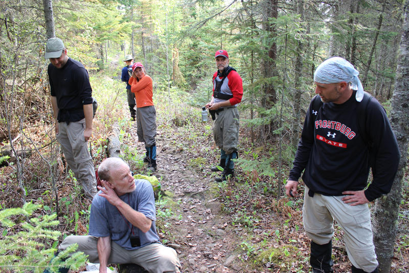 Moosewatch volunteers on Isle Royale