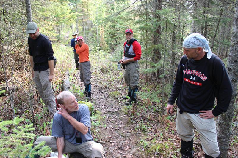 Moosewatch volunteers on Isle Royale