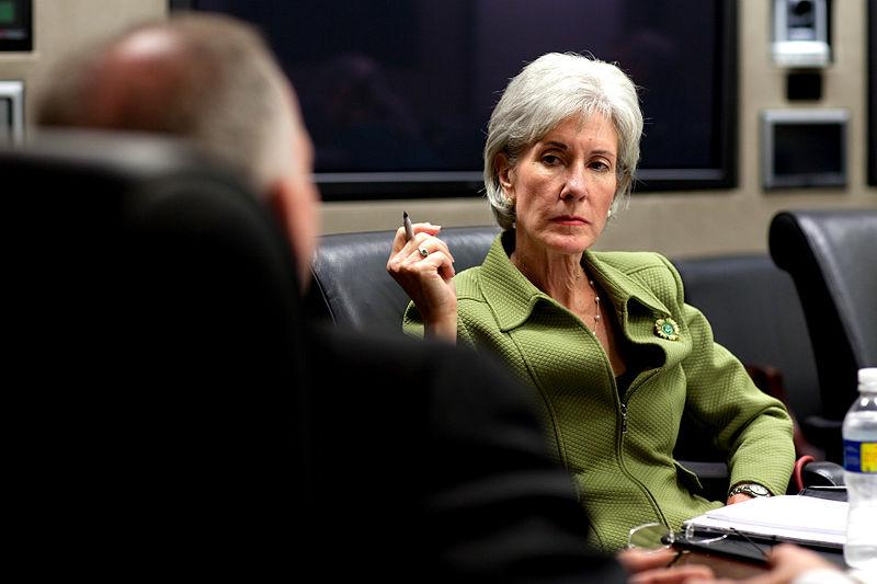 U.S. Health and Human Services Secretary Kathleen Sebelius