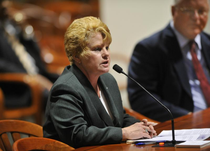 State Rep. Deb Shaughnessy is sponsoring a bill outlawing disruption of worship services.