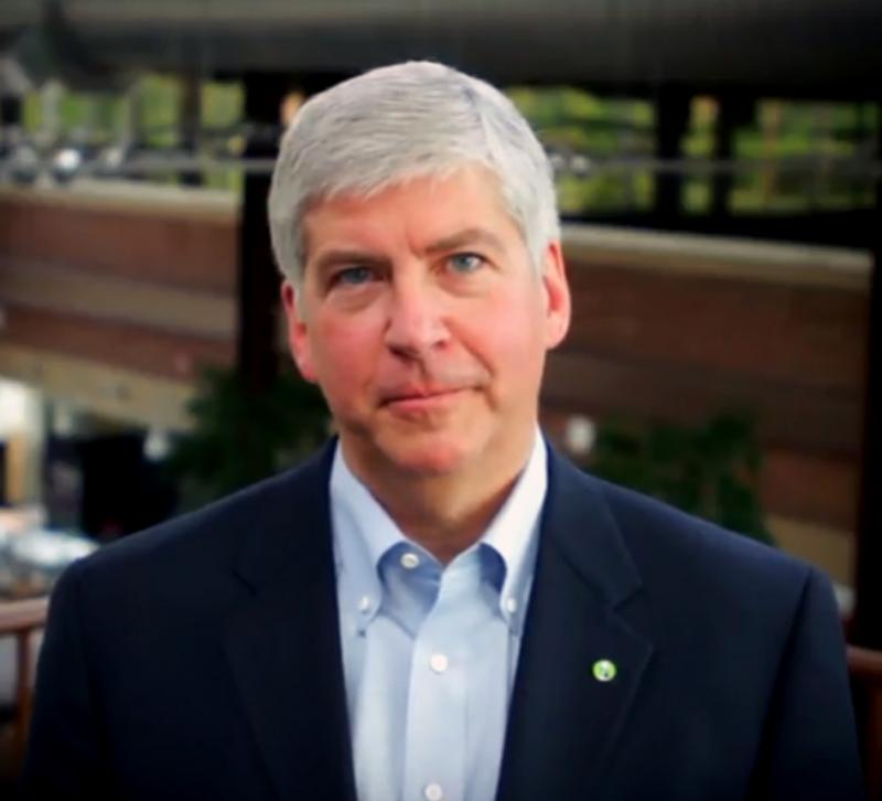 Governor Snyder said a plan to split Michigan's Electoral College votes should not be considered at this time.