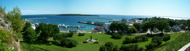 Marquette Park on Mackinac Island