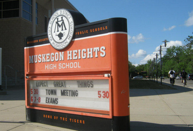 Muskegon Heights High School (file photo)
