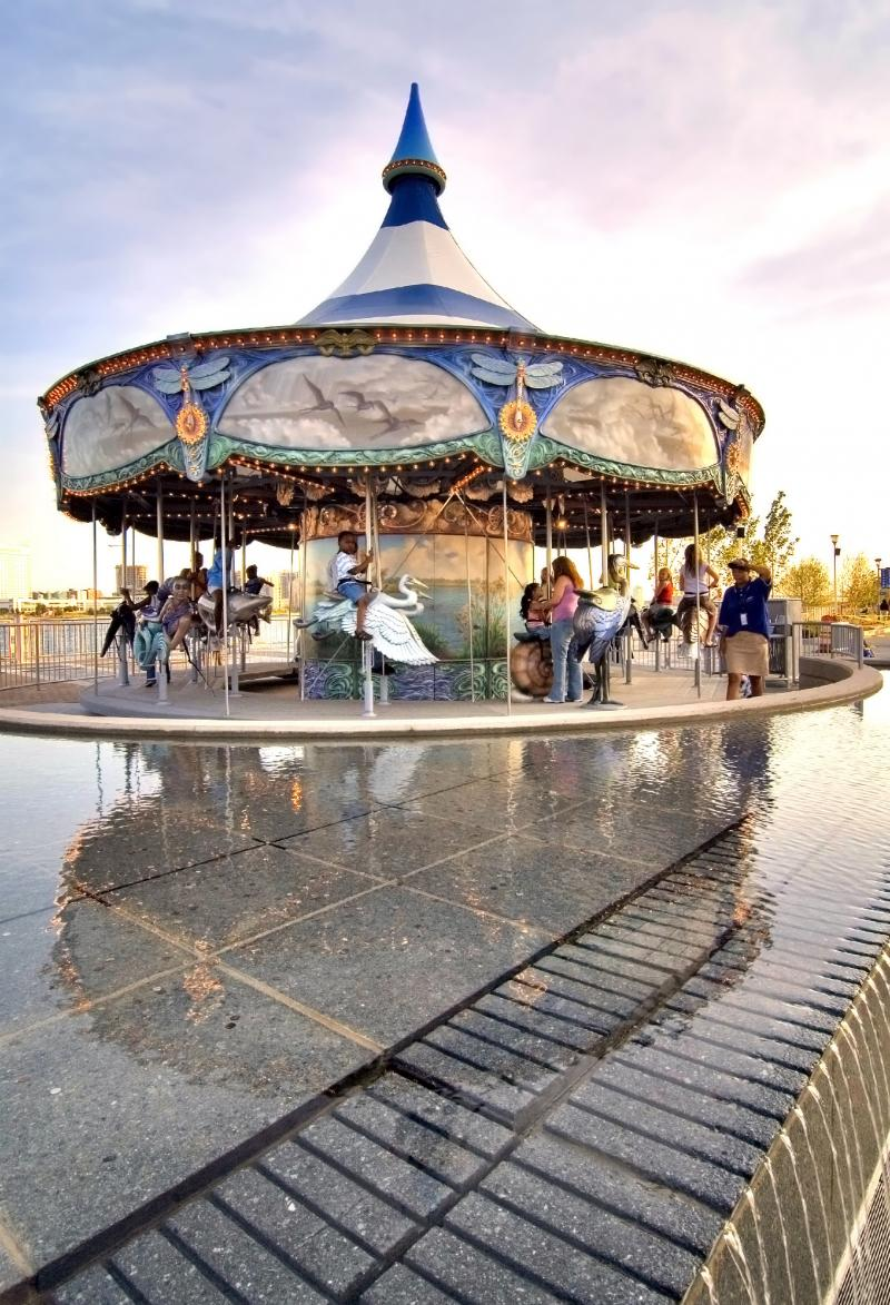 Carousel on the riverfront