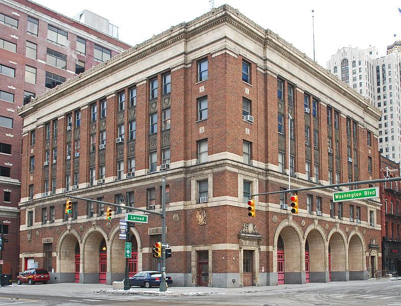 Detroit Fire Department headquarters.