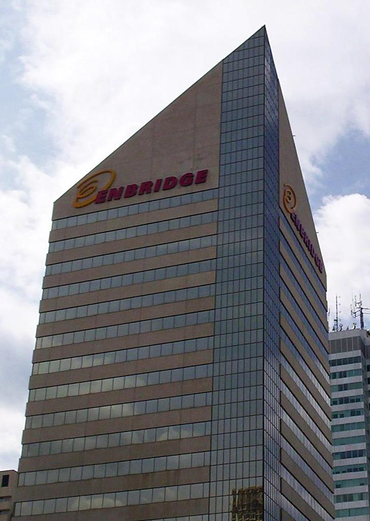 Enbridge building in Edmonton, Alberta.