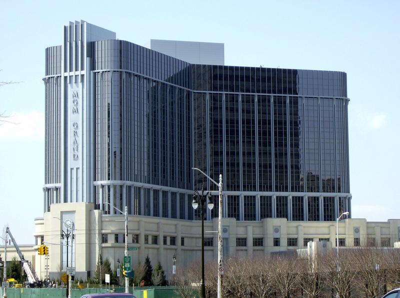 The MGM Grand Casino in Detroit
