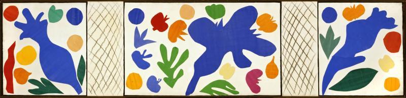 Matisse - The Wild Poppies, 1953 - print