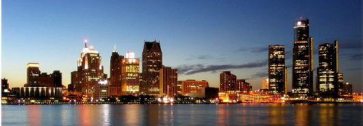 Detroit Skyline