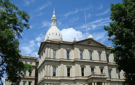 Michigan State Capitol building.