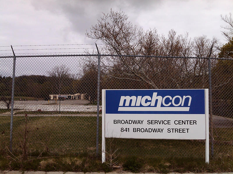 The site was used as a service center by MichCon from the 1950s until 2009. The company says it's waiting to see how the land will be used before it does more cleanup on the site.