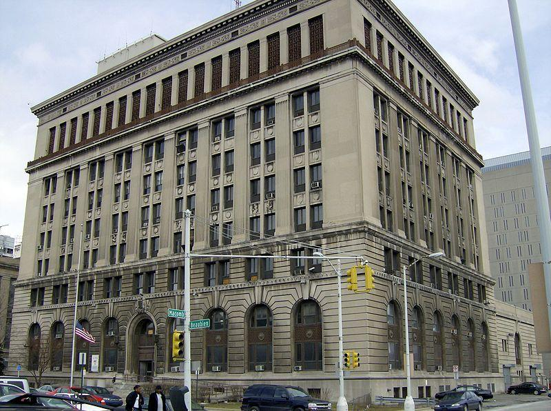 Detroit Police headquarters.