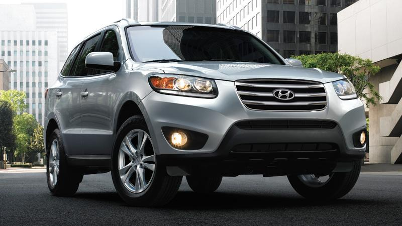 Hyundai is recalling nearly 200,000 Santa Fe SUVs in the 2007 to 2009 model years.