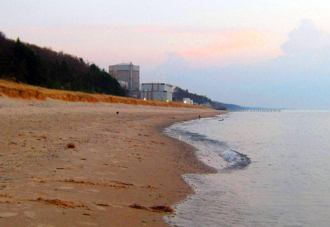 Palisades Nuclear Power Plant in Covert, MI