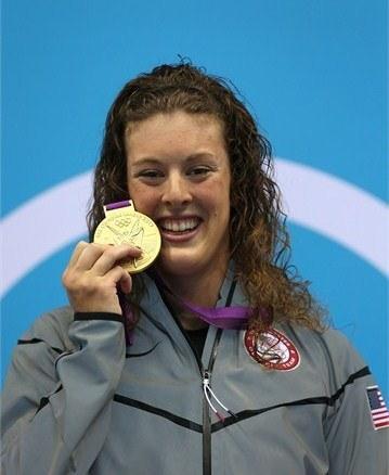Gold medalist Allison Schmitt.