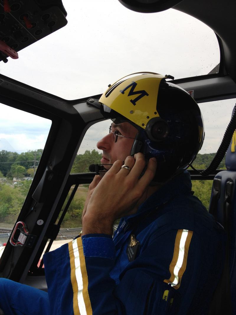 Pilot Tom Sherony