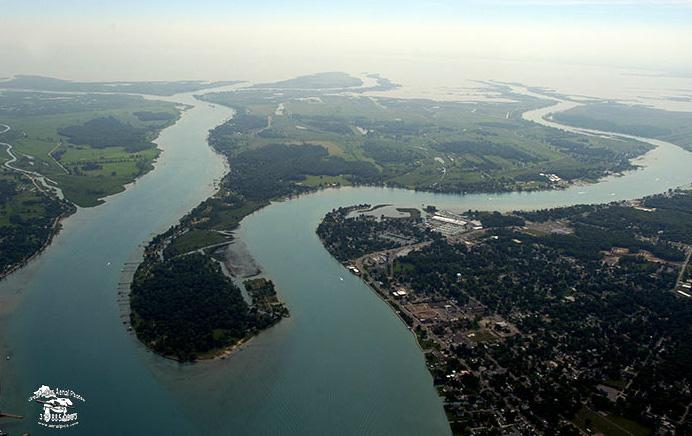 Aerial Photo of Harsens Island