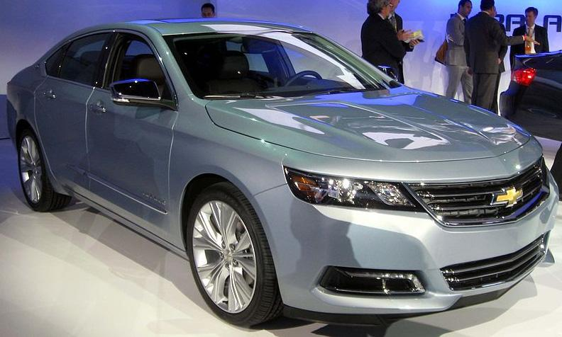 The redesigned 2014 Impala