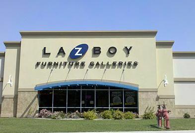 A La-Z-Boy store.