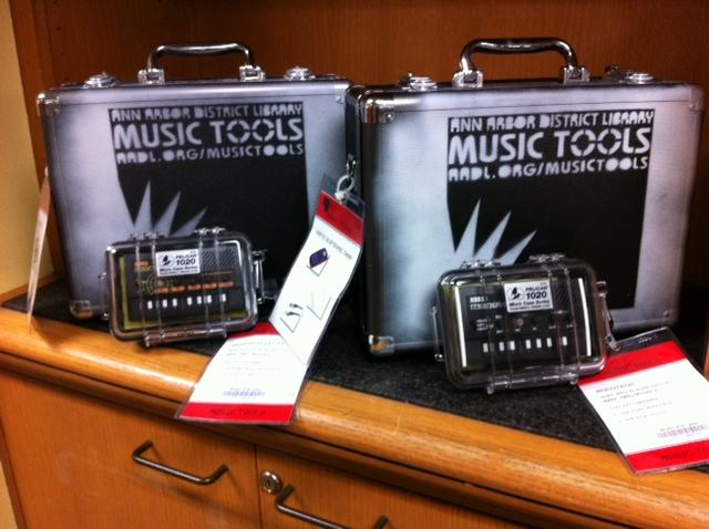 AADL's music tools collection