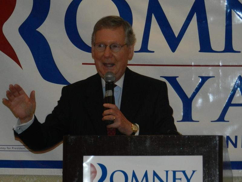 U.S. Senate Minority Leader Mitch McConnell, (R) KY