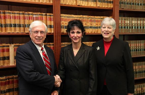 Ingham County Circuit Judge Rosemarie Aquilina (center)  was chosen to lead the inquiry into House Speaker Jase Bolger (R-Marshall) and Rep. Roy Schmidt (R-Grand Rapids).