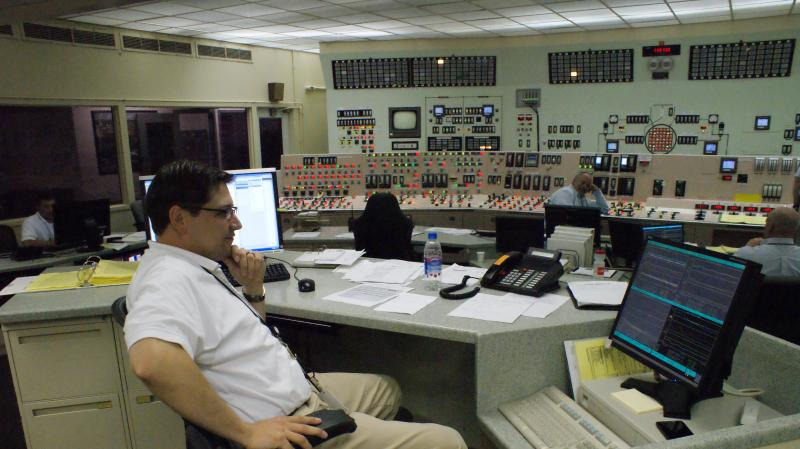Inside the control room at Palisades. (file photo)