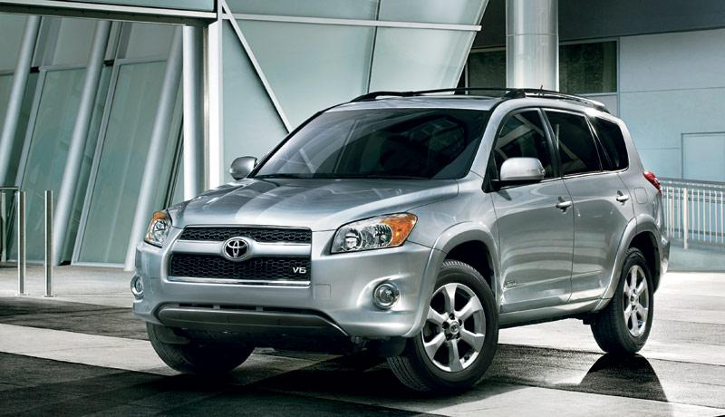 A 2012 RAV4. Toyota Is Recalling RAV4s From The 2006 To 2011 Model Years.