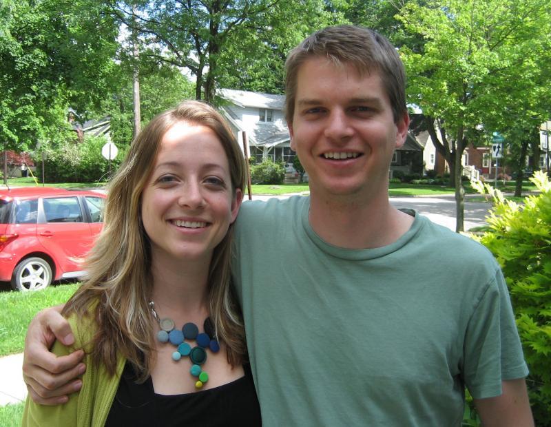 Cara and Karl Rosaen, co-founders of RealTimeFarms.com