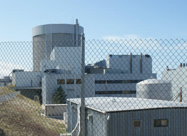 The Palisades Nuclear Plant sits on the shores of Lake Michigan in southwest Michigan.